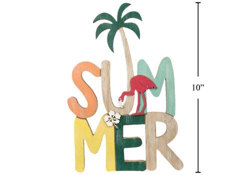 Summer Palm Tree Tabletop Decor