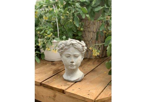 Goddess Head Planter