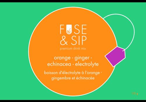 Fuse & Sip Orange, Ginger & Echinacea Electrolyte Drink Infusion