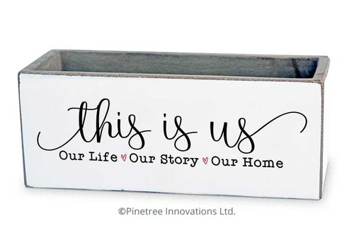 """This Is Us Planter 8""""x3"""""""