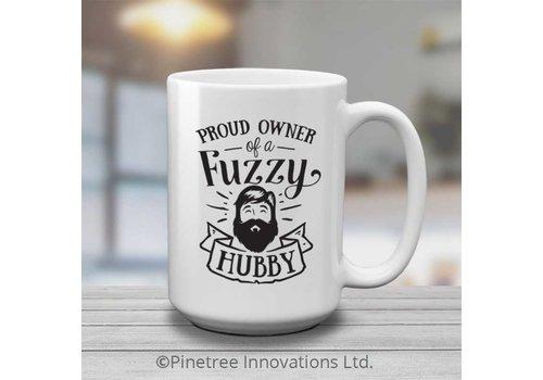 Coffee Mug Fuzzy Husband 15oz