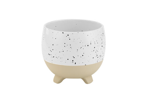 Speckle Footed Planter