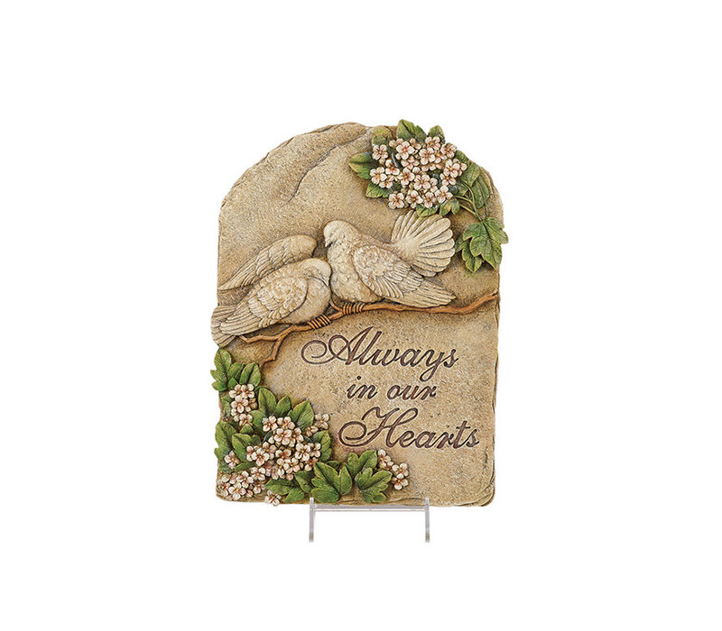 """Always in our Hearts Plaque 16""""x12"""""""