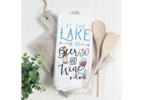 Towel At The Lake We Do