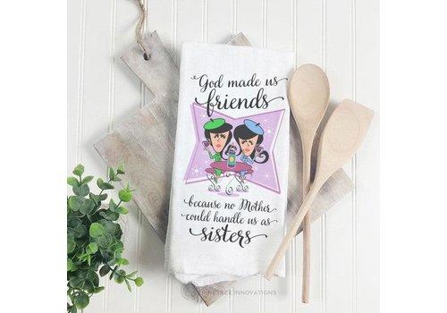 Towel God Made Us Friends