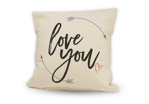 "Pillow Love You 12"""