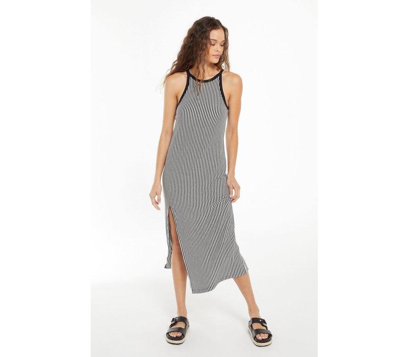 Palisades Stripe Midi Dress
