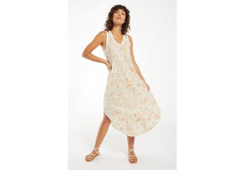 Z Supply Reverie Floral Midi Dress