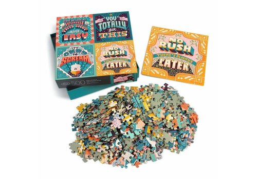 Fred McDevitt Life Lessons 500pc Puzzle