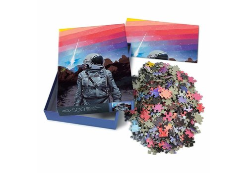 Fred Listfield Rainbow 500pc Puzzle