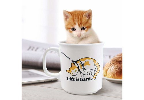 Life Is Hard Say Anything Mug