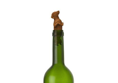 Fred Winer Dogs Bottle Stopper