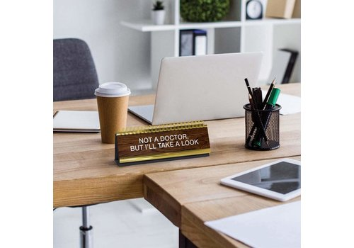 Fred Daily Desk Plaque