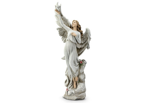 Angel Holding Dove