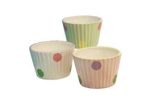 "Cupcake Planter 3""x4.5"""