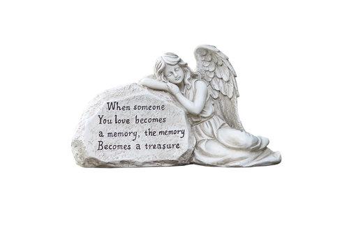 Angel Sleeping on Plaque