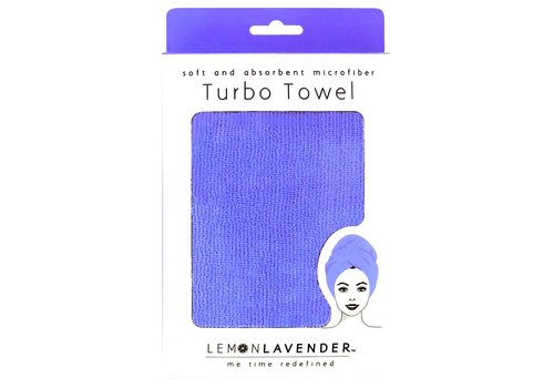 Very Violet Turbo Towel