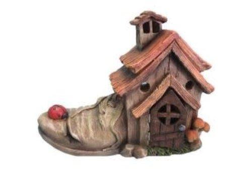Shoe House With Ladybug