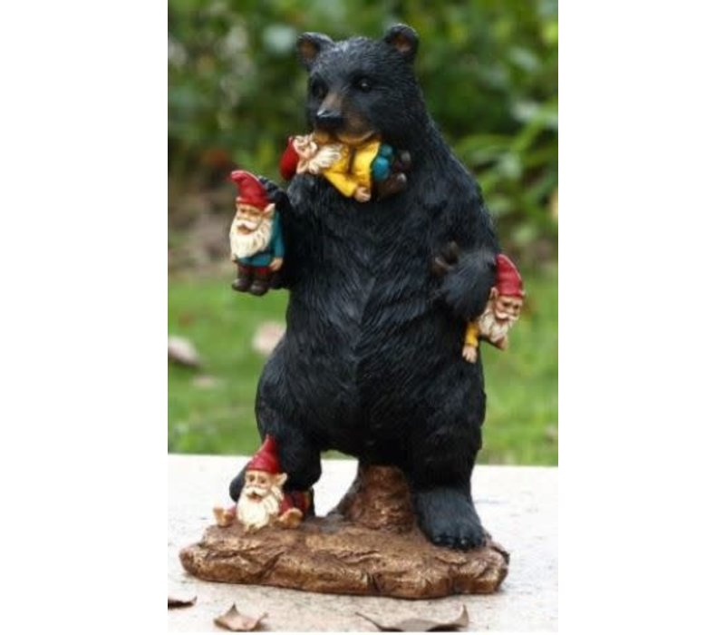 Gnome In Trouble With Bear