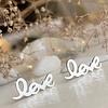 Pika & Bear Amor Love Studs