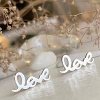 Amor Love Studs