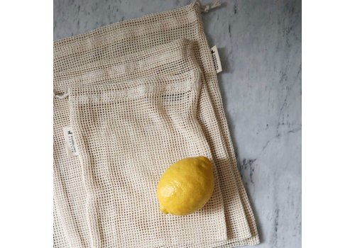 Pokoloko Organic Mesh Eco Bag Natural