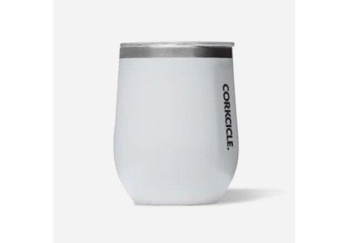 Corkcicle Stemless Gloss White 12oz