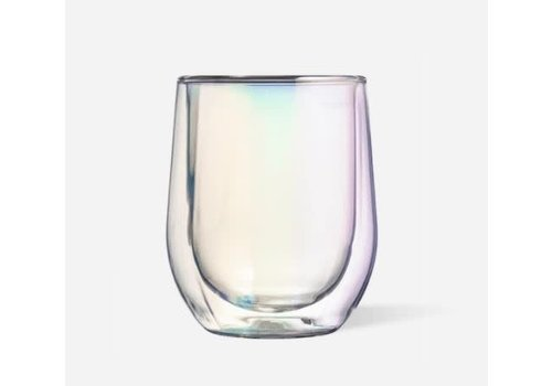 Corkcicle Glass Stemless Double Pack Prism