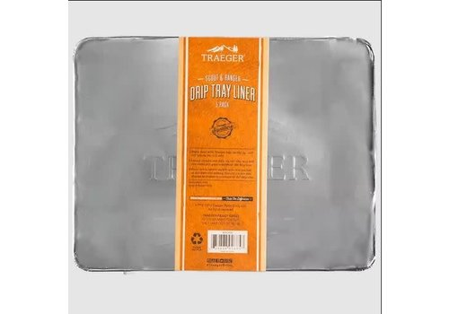 Traeger Drip Tray Liner 5 Pack Ranger/Scout