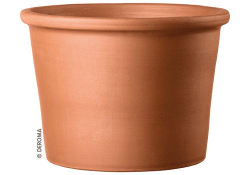 Deroma Cylinder Pot Terracotta