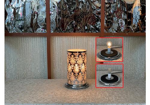 Silver Lotus LED Touch Sensor Lamp