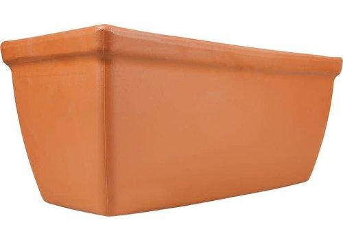 "Terracotta Roma Window Box 16.5"""