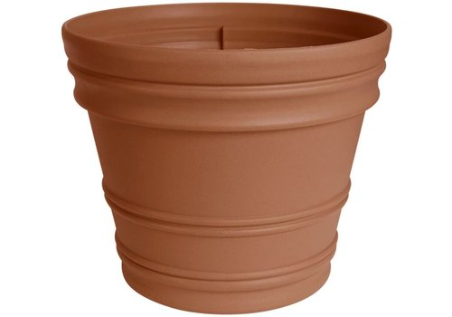 Bloem Rim Planter Terracotta