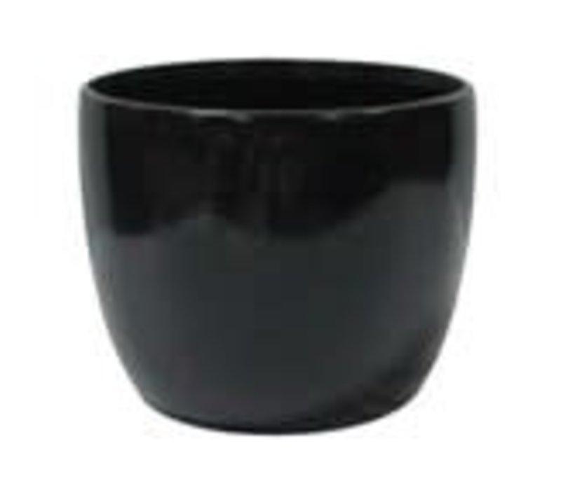 """Black Dolomite Pot 4.5""""x4"""""""