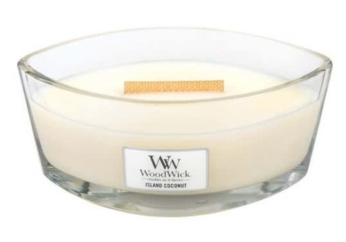 Woodwick Island Coconut Eclipse Candle Large