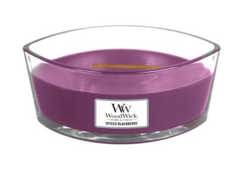 Woodwick Spiced Blackberry Ellipse Candle Large