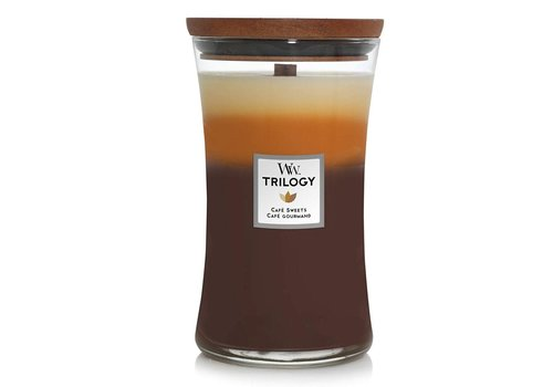 Woodwick Cafe Sweets Trilogy Hourglass Candle