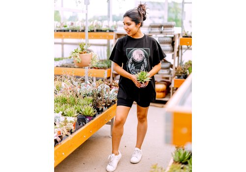 Brunette The Label Babe Definition Oversized Boxy Tee