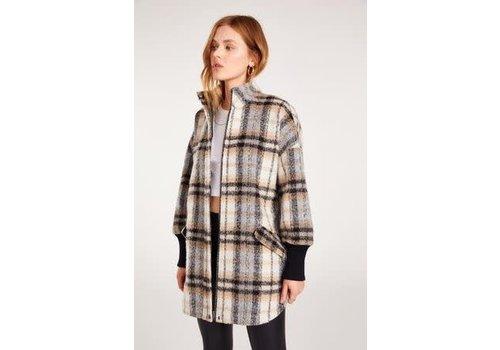 BB Dakota Plaid Times Coat