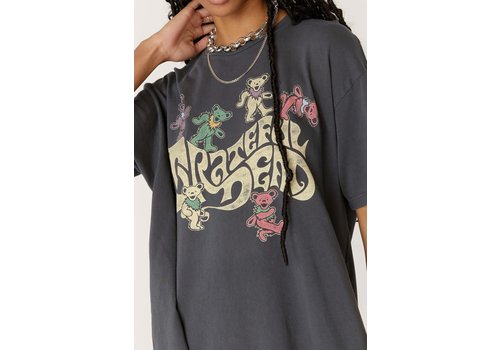 Daydreamer Grateful Dead Bearst T-Shirt Dress