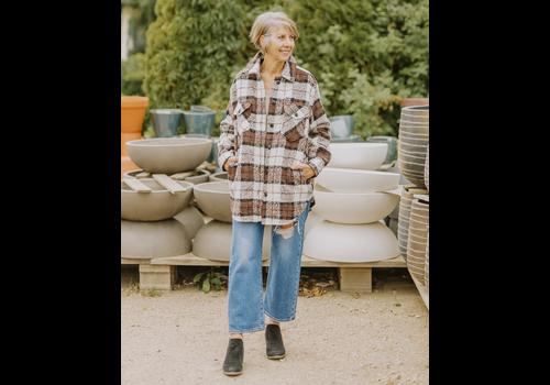 RD Style Jessica Plaid Jacket