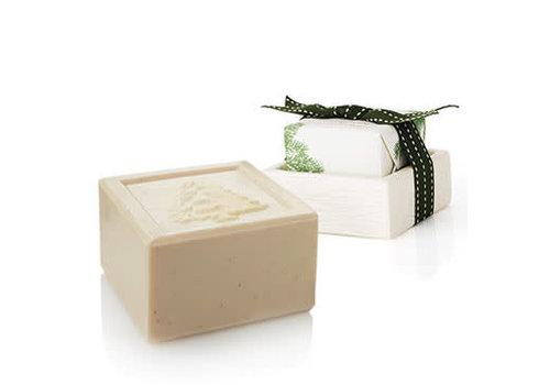 Thymes Bar Soap and Dish Set Frasier Fir