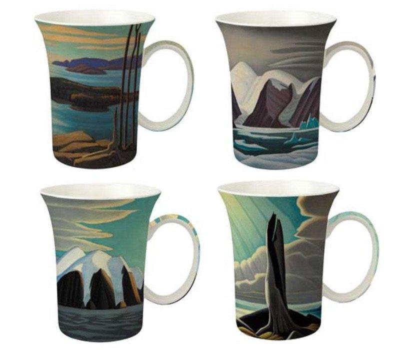 Lawren S. Harris Set of 4 Mugs