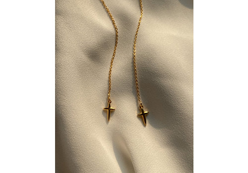 Jewellery By HannahLynn Cross Your Heart Threaders