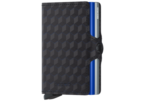 SECRID Twin Wallet Optical Titanium-Blue