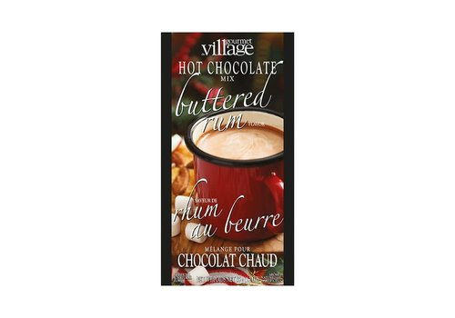 Gourmet Du Village Mini Hot Chocolate Buttered Rum