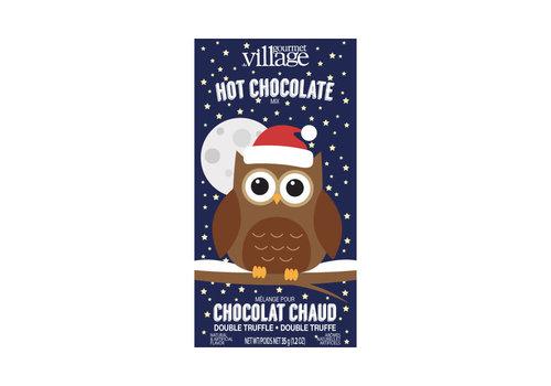 Gourmet Du Village Mini Hot Chocolate Owl