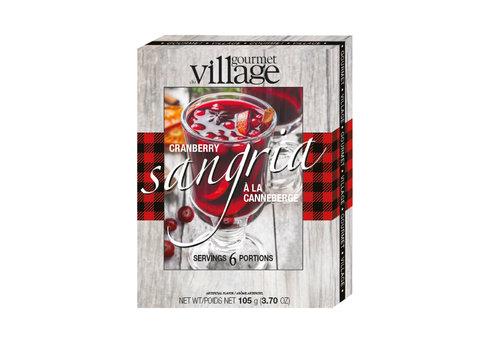 Gourmet Du Village Sipper Drink Mix Cranberry Sangria