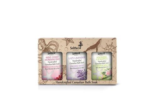 Saltwest Naturals Calming Bath Gift Box