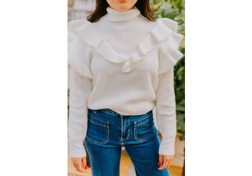 Glamorous Ruffled Sweater